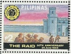 Stamp: End of World War II - 50th Anniversary (Philippines) (End of World War II - 50th Anniversary) Mi:PH 2598