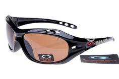Oakley Polarized Hijinx Sunglasses Black Frame Brown Lens 0886