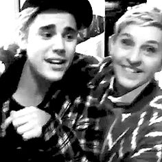 Thanks Ellen for understanding him and standing by his side . We #beliebers really appreciate that and you're just amazing . Love you