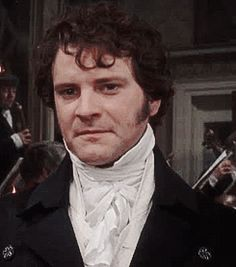 Pride and Prejudice ~ Darcy Colin Firth Mr Darcy, Hot British Men, Darcy And Elizabeth, Jane Austen Movies, Classic Literature, Pride And Prejudice, Golden Age Of Hollywood, Interesting Faces, Period Dramas