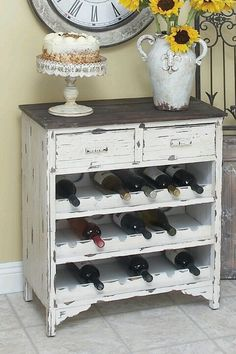 Dresser to Wine bar