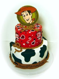 Woody - One of my favorites, done by my assistant. buttercream, fondant accents.