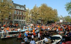 Expert advice on celebrating King's Day in Amsterdam, on April 26, including   what to do, where to go, and details on last-minute hotel and flight   availability.