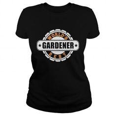 Cool Worlds Best Gardener TShirts  Mens Premium TShirt Shirts & Tees