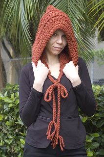 Unique and modern hoodie that can be worn many ways. This works up super fast and makes a really great gift. Hoodie can easily be made smaller or larger.