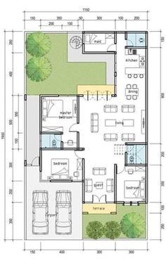 10 Marla House Plan, 2bhk House Plan, Model House Plan, House Layout Plans, Barn House Plans, Dream House Plans, House Layouts, House Floor Plans, House Floor Design
