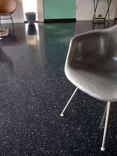 Terrazzo flooring  Quite durable and elegant design.  www.terrazzco.com