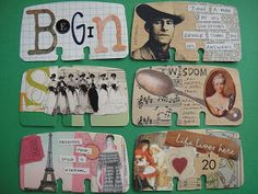 Drawing near: Altered Rolodex Cards