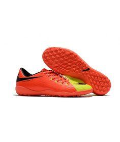 0a40534b Nike Hypervenom Phelon III TF NA UMĚLÝ POVRCH oranžový žlutý černá muži  Leather kopačky
