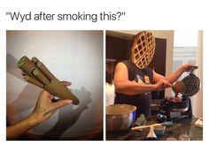 "13 Hilarious ""What You Do?"" Smoking Memes"