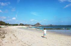 The cheapest destination I've visited so far! The south coast of Lombok, Kuta beach