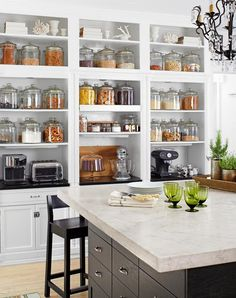 8 Secrets to Styling Open Shelves - PureWow