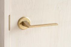 Architectural hardware of the lever handle / MATUREWARE by FUTAGAMI / brass…