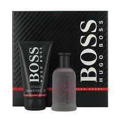 2a3068a8c5432 HUGO BOSS BOTTLED SPORT 100ML EDT 150ML S GEL SET M Boss Bottled Sport eau  de toilette spray for men is described as a fresh and citrus perfume