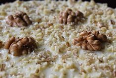 karolina-azzaro: Mrkvová torta (Carrot cake) Carrot Cake, Risotto, Cake Recipes, Carrots, Oatmeal, Azzaro, Breakfast, Ethnic Recipes, Food