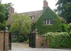 The Old Vicarage in Grantchester. Famous home of Edwardian poet Rupert Brooke. Currently owned by Jeffrey and Mary Archer.
