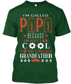 Hello there, I just found this T-Shirt on my news feed a while back.I love it so much but I don't know much about Teespring T-Shirt.Can you suggest me how it will be?  https://teespring.com/cool-cool-papa