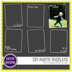 Hope you enjoyed the highlighter journalling brushes from last week! This week I have some project life style overlays for your photos . Life Journal, Journal Cards, Free Photos, My Photos, Digital Project Life, December Daily, Scrapbook Sketches, Scrapbooks, Layout Design