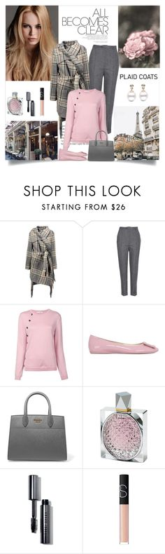 """""""All becomes clear"""" by danniss ❤ liked on Polyvore featuring KAROLINA, Chloé, Isabel Marant, Altuzarra, Barker, Roger Vivier, Prada, STELLA McCARTNEY, Bobbi Brown Cosmetics and NARS Cosmetics"""