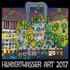 Hundertwasser Broschürenkalender Art 2017