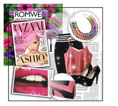 """""""Romwe IV (3)"""" by albinnaflower ❤ liked on Polyvore featuring Martha Stewart and romwe"""