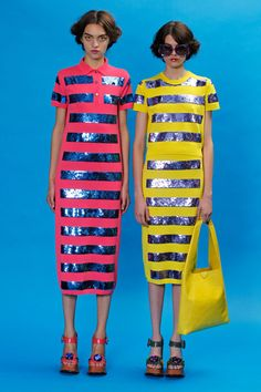 Marc Jacobs took to neon for Resort 2013!