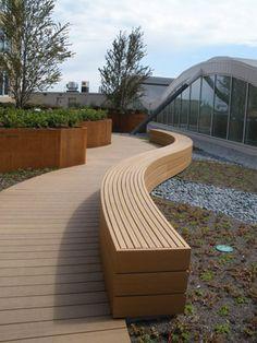 Home - Martha Schwartz Partners Urban Furniture, Street Furniture, Garden Furniture, Urban Landscape, Landscape Design, Garden Design, Banquettes, Wooden Garden Benches, Outdoor Seating