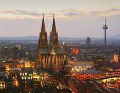 My FAVORITE city in the world, KOLN (Cologne), Germany
