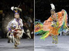 Dancing at National Pow Wow, dancers are dressed in full regalia Please note: these are not costumes, they are authentic celebration garb Thanksgiving History, Happy Thanksgiving, Pilgrim Outfit, Jingle Dress Dancer, Powwow Beadwork, Pow Wow Party, Native Child, Mix Photo, Indian People
