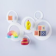 Bubble shelf  Land of Nod: exploding with cuteness for your kid's room all day long | Offbeat Families