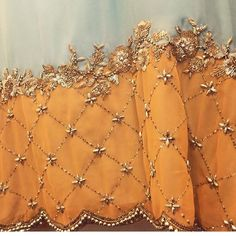 Embroidery Wedding Dress Haute Couture Fashion Details Ideas For 2019 Embroidery Suits Punjabi, Zardosi Embroidery, Hand Embroidery Dress, Embroidery Suits Design, Embroidery Works, Couture Embroidery, Embroidery Fashion, Hand Embroidery Designs, Beaded Embroidery