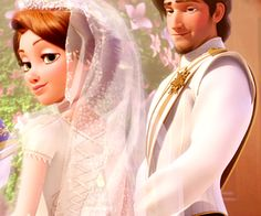 Rapunzel and Flynn Rider (Eugene Fitzherbert) Disney Pixar, Disney Rapunzel, Tangled Rapunzel, Princess Rapunzel, Disney And Dreamworks, Disney Animation, Disney Art, Walt Disney, Disney Films