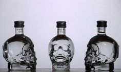 Crystal Head Vodka Mini's     #chvdeadday