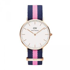 Daniel Wellington Watch -- I have this with a slightly different band. Great watch.