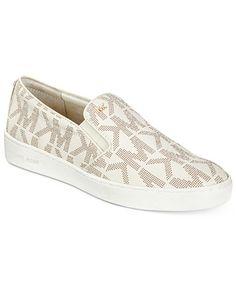 b31aa73bed920 Michael Kors Keaton Slip-On Sneakers Shoes - Sneakers - Macy s