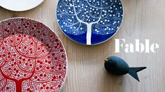Young London-based illustrator Karolin Schnoor created our beautiful Fable tableware. www.royaldoulton.co.uk