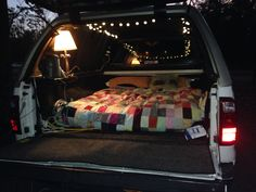 Truck bed camping                                                                                                                                                      More