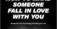 http://ift.tt/2n0xpLn ==>how to make someone fall in love with you  / i fall in love with youhow to make someone fall in love with you : http://ift.tt/2nj8GEo  Make Anyone Like You in Few Days This book is without doubt the most powerful book on our planet that covers the topic of making someone fall in love with you. Up to this day I can assure you that there is no other book similar or even close in content to this one. The book will definitely increase your chances of making anyone love…