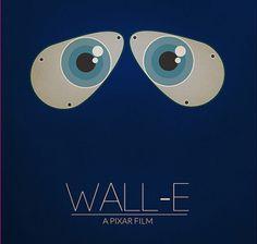 #wall-e, #film, #minimalist, #pixar