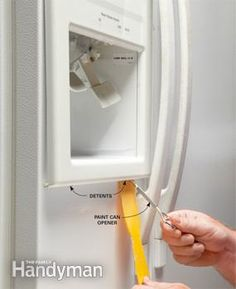A great website to help with almost any household repair. ...hopefully this will help with our fridge!