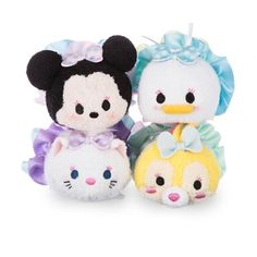 Disney tsum tsum Minnie & friend dressy set Brand new! 100% authentic, purchased from Disney store, will provide a copy of receipt upon request. This set is already sold out at Disney stores. Other