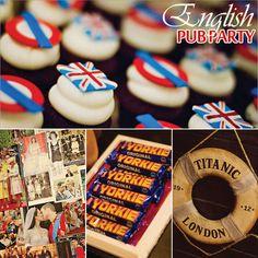 English pub party
