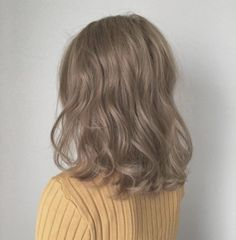 cheneybrousse - 0 results for light brown hair Ashy Hair, Medium Ash Blonde Hair, Ashy Brown Hair, Brown Hair Colors, Korean Hair Color, Aesthetic Hair, Light Brown Hair, Cool Hair Color, Hair Color Ideas