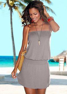 Strapless dress in the VENUS Line of Dresses for Women