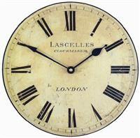 Medium Lascelles Wall Clock - 25.5cm