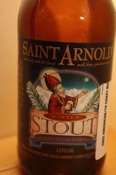 Saint Arnolds - Winters Stout    Good beer.