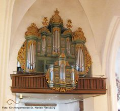 Prospekt Orgel St. Marien Flensburg