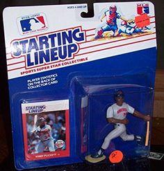 Starting Lineup MLB ~ Kirby Puckett w/ Minnesota Twins 1988