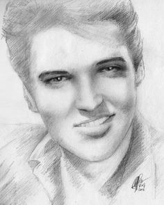 elvis 27 Types Of Art Styles, Back Drawing, Face Stencils, Elephant Art, Hot Hunks, Graceland, Black And White Pictures, Love Pictures, Rare Photos