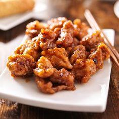 What's for dinner? How about this Gluten Free Orange Chicken Recipe? - http://glutenfreerecipebox.com/gluten-free-orange-chicken/ #glutenfree #glutenfreerecipes